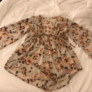 Flowered romper from Isabelle's Cabinet!